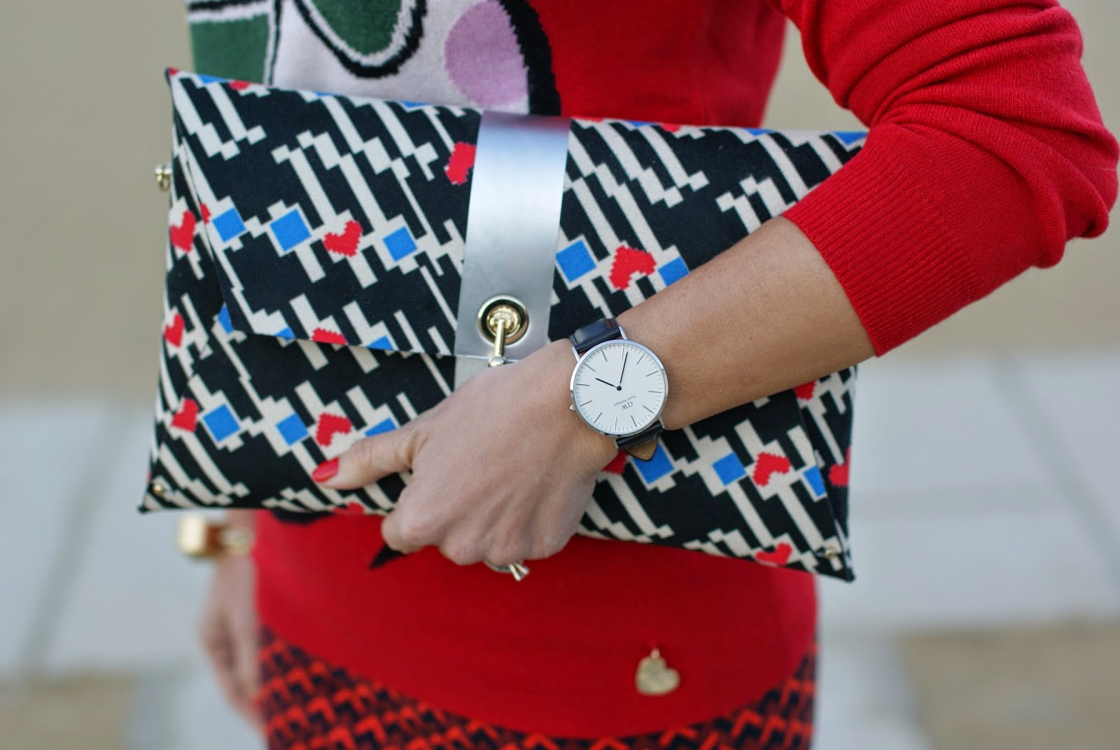 Daniel Wellington watch, Ohmai Louise bag, Fashion and Cookies, fashion blogger