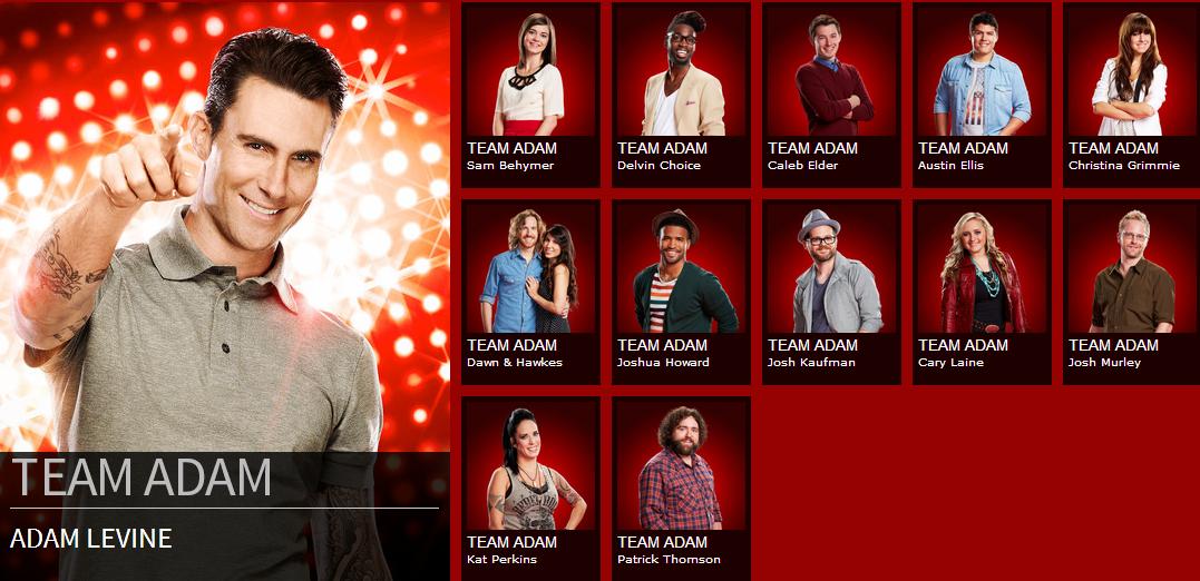 What i like the voice season 6 top 48 amp full team