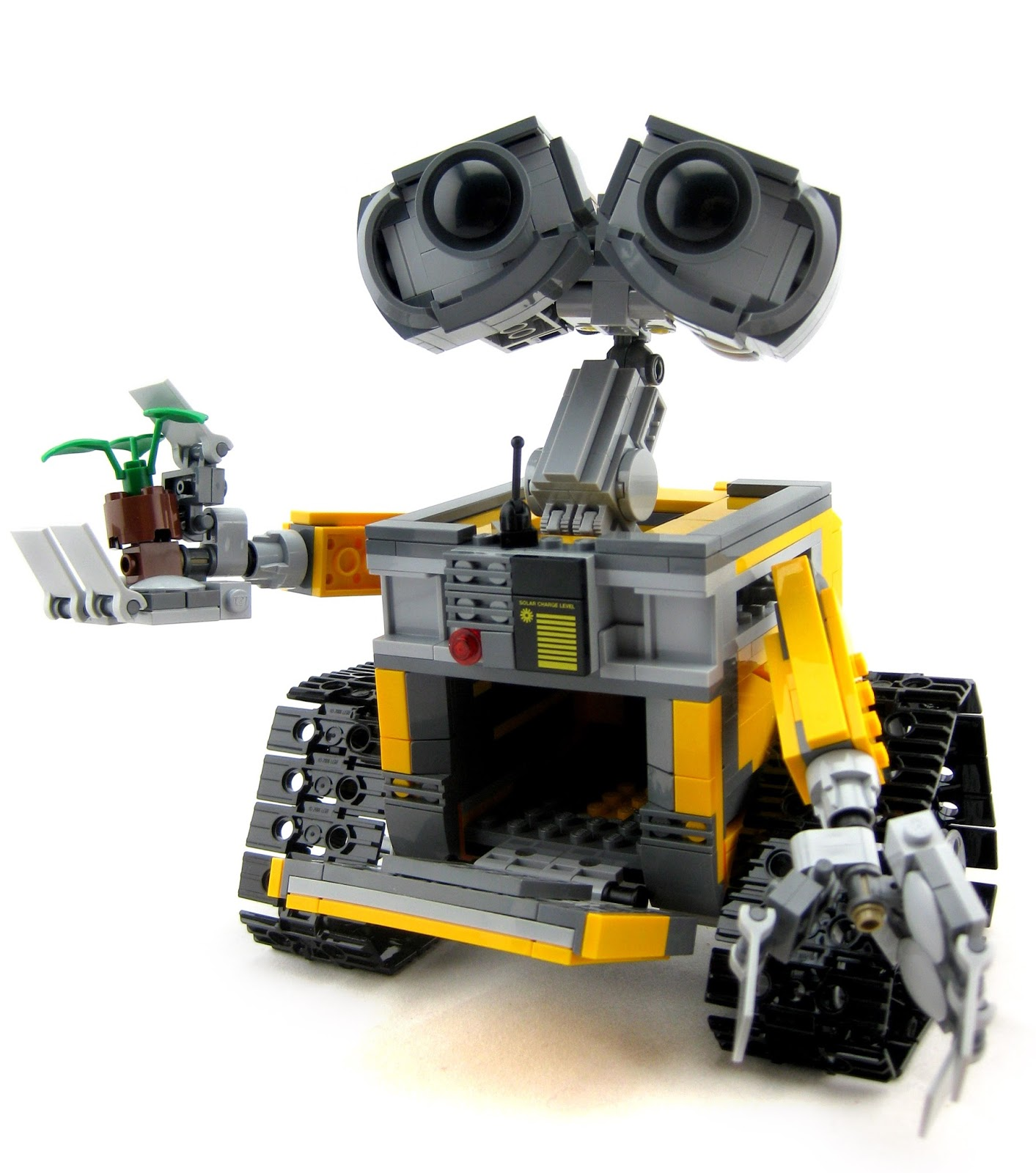 dan the pixar fan wall e lego set. Black Bedroom Furniture Sets. Home Design Ideas