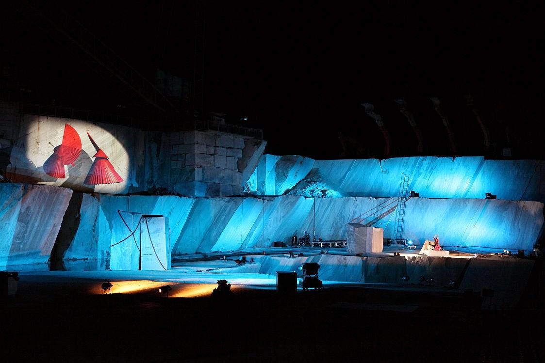 Dal 17 a domenica 20 luglio 2014: nelle cave di marmo del Verbano Cusio Ossola ritorna il festival musicale Tones on the Stones