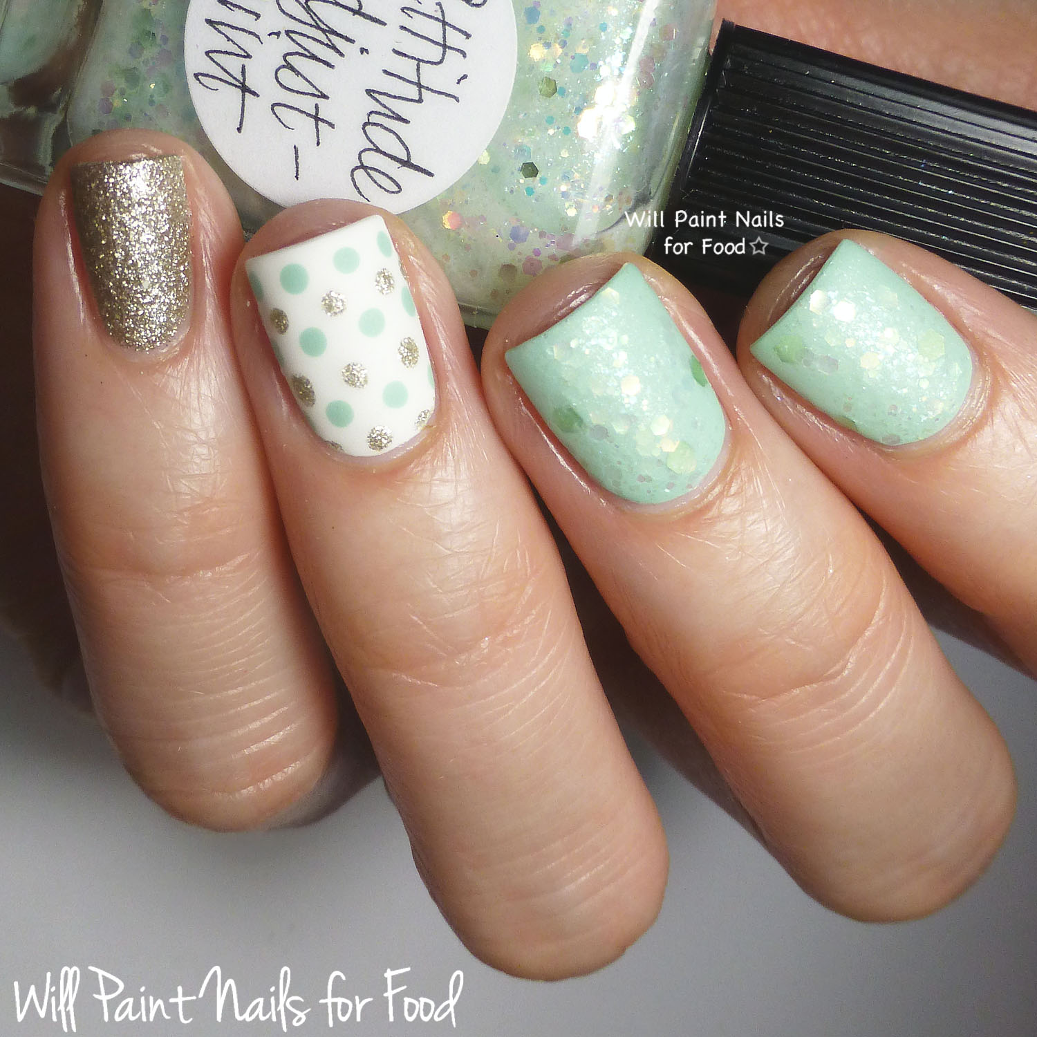 Will Paint Nails for Food
