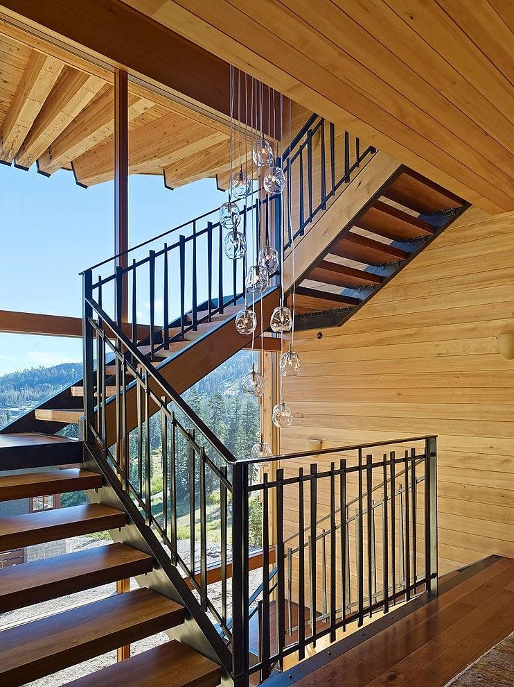 amenajari, interioare, decoratiuni, decor, design interior, vila, casa de vacanta, scara