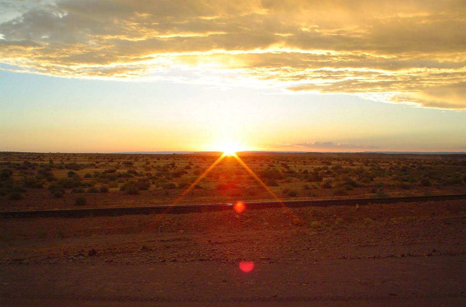 Sunset scenic route Namibia - www.namibweb.com
