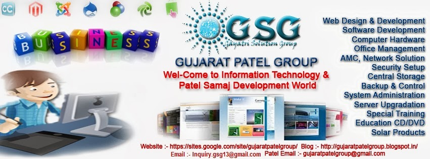 Gujarat Patel Group ( Gayatri Solution Group )