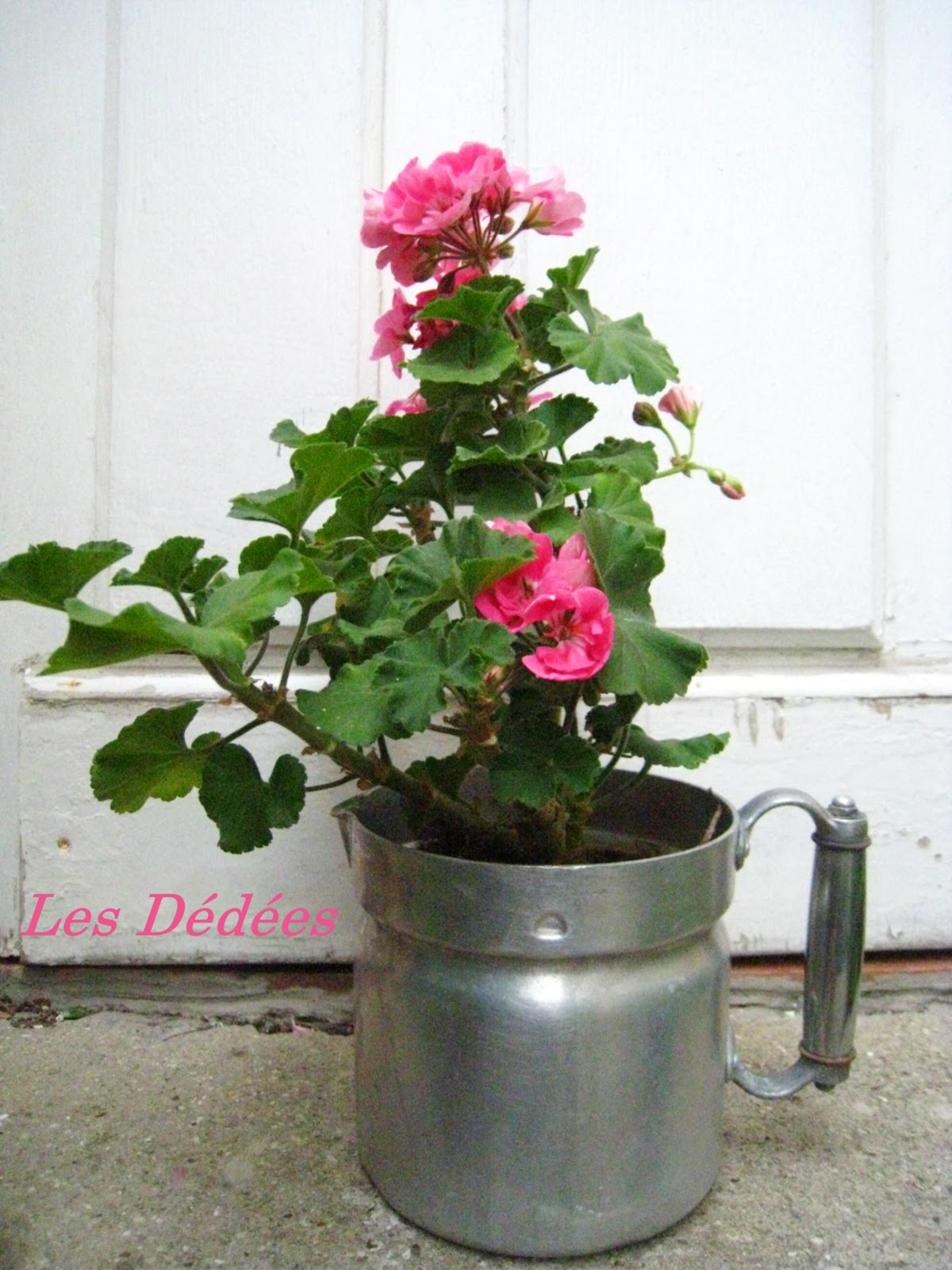 Les dedees vintage recup creations deco les pots a for Pots cuisine decoration