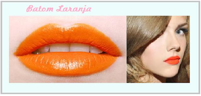 maquiagem-batom-laranja-boca