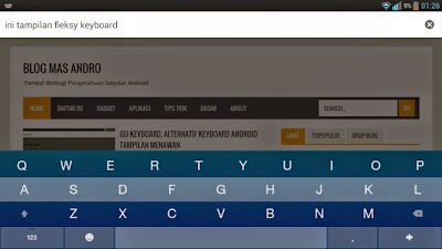 Aplikasi Keyboard Android Terbaik Fleksy