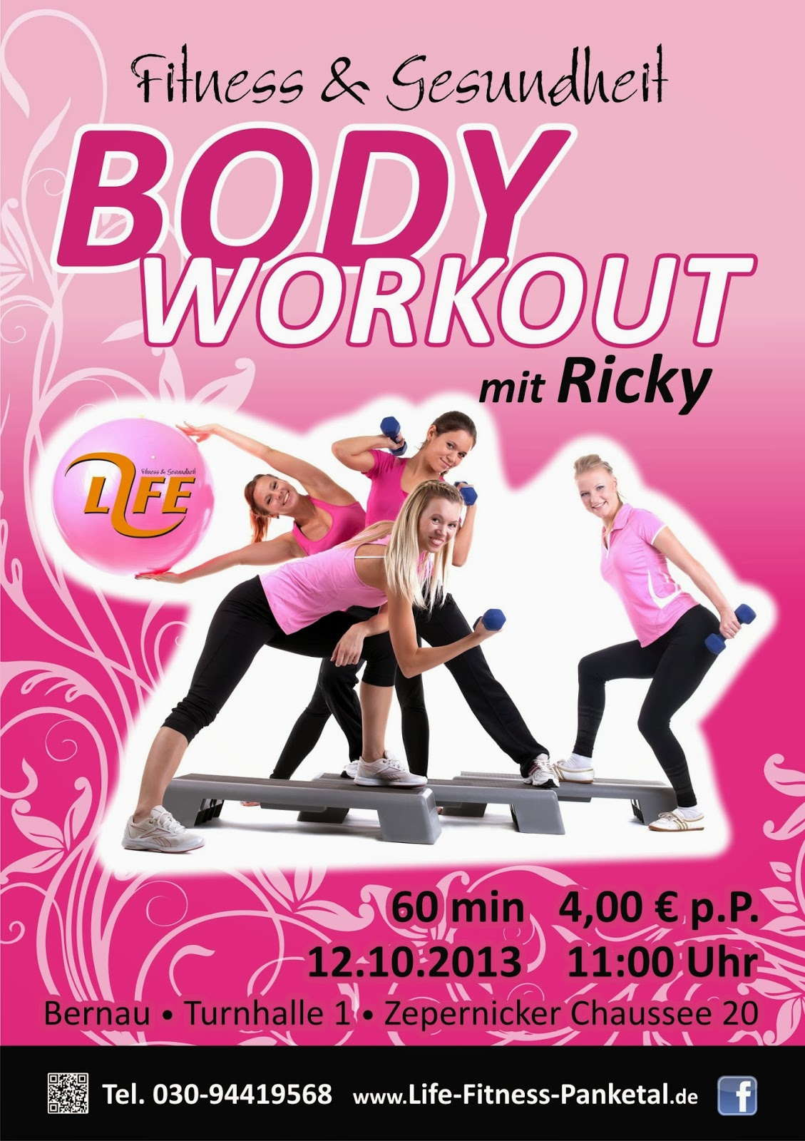 Life Fitness Poster Bodyworkout II 2