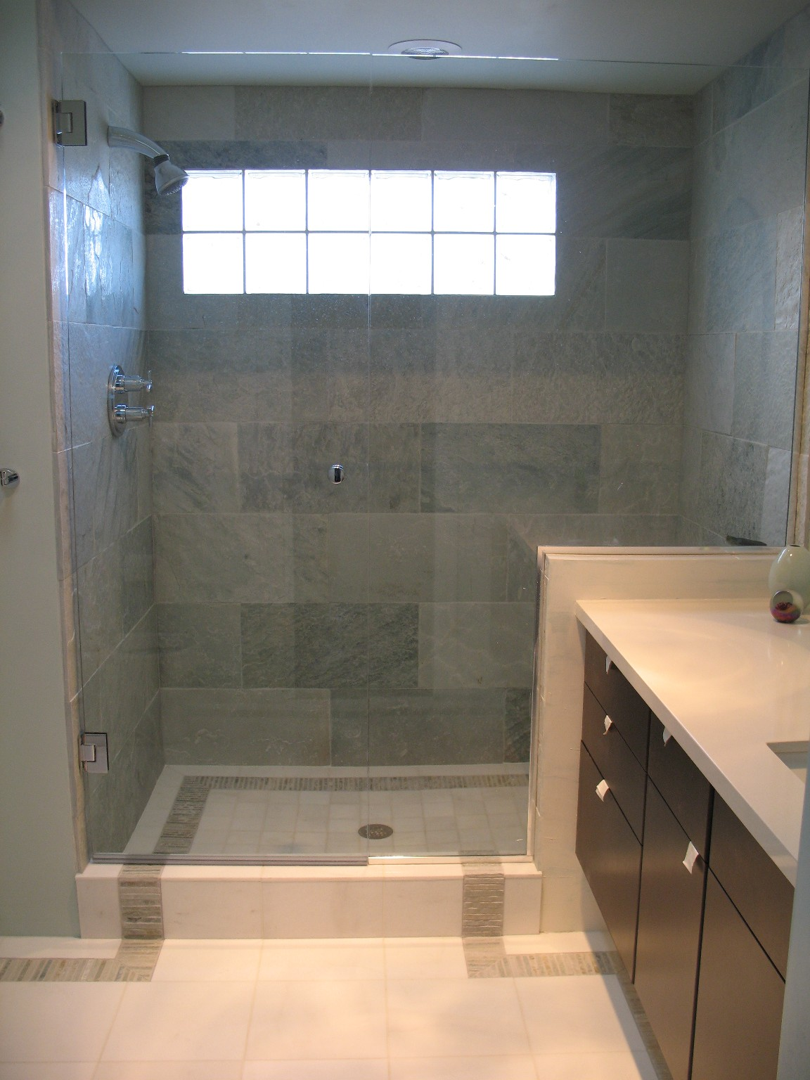 Creative juice what were they thinking thursday shower tile borders Best tile for shower walls