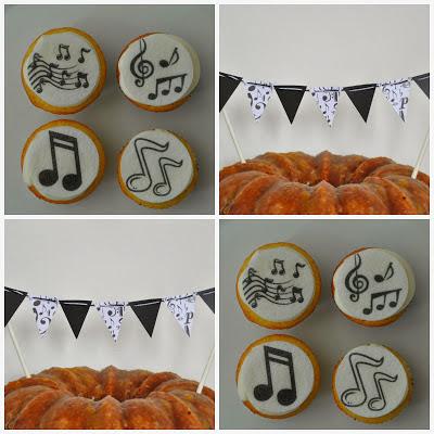 choir cupcakes