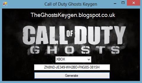 Call of Duty GHOSTS Keygen Generator - YouTube