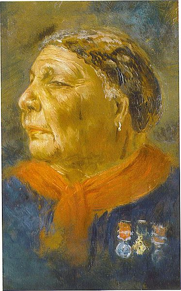 Painting of Mary Seacole