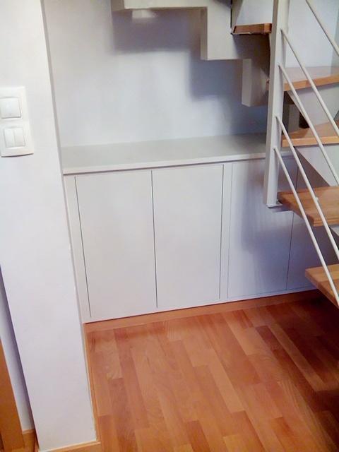 Mueble para hueco bajo escalera - Muebles Cansado (Zaragoza ...
