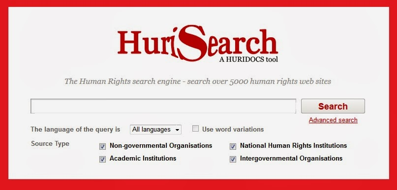 screen snip of HuriSearch search box