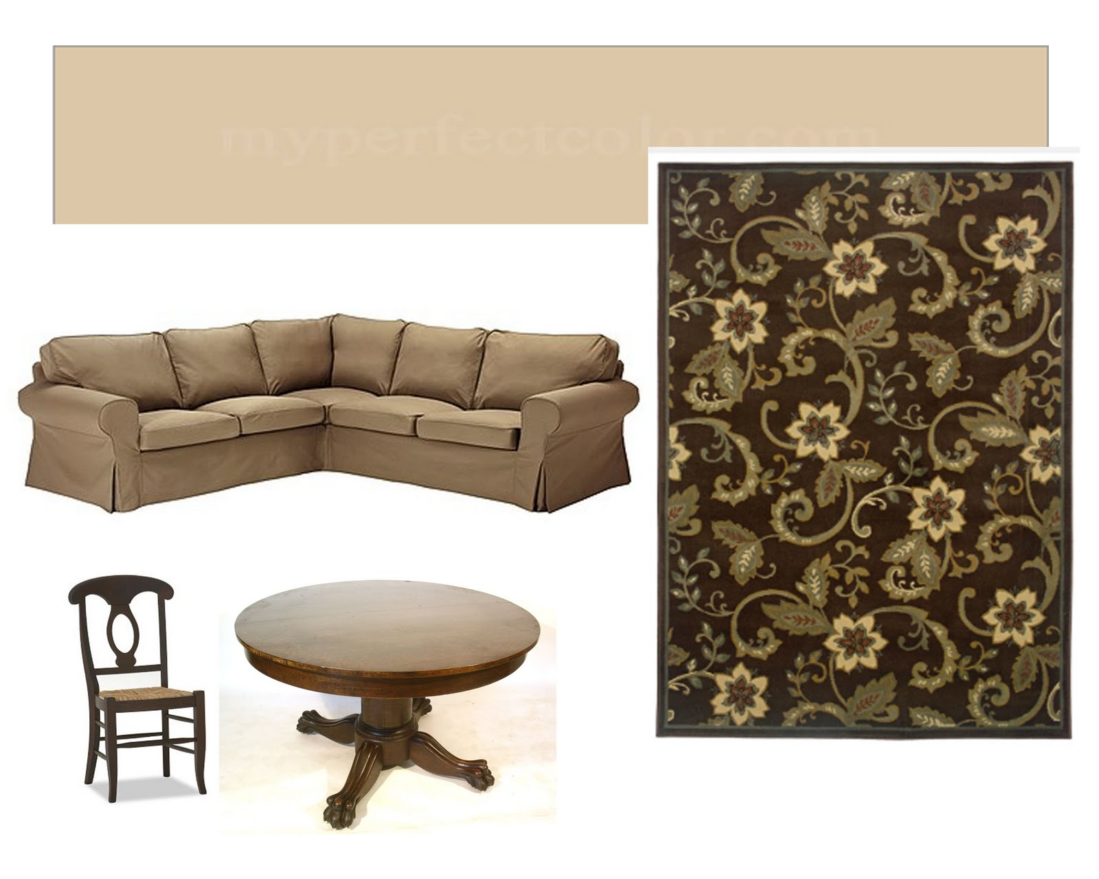 moodboard of the other large elements in our living and dining rooms title=