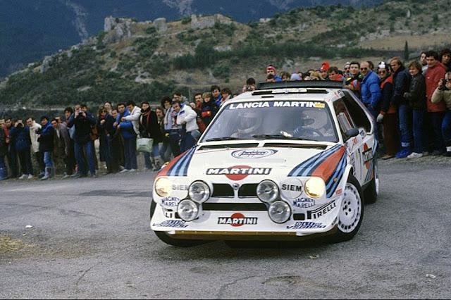 1986 FRANCIA - HENRI TOIVONEN - SERGIO CRESTO LANCIA DELTA S4 MARTINILancia Delta S4 Toivonen Crash