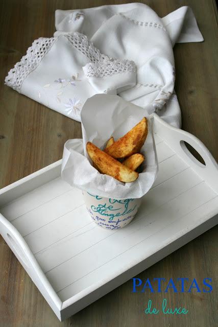 patatas, patatas de luxe