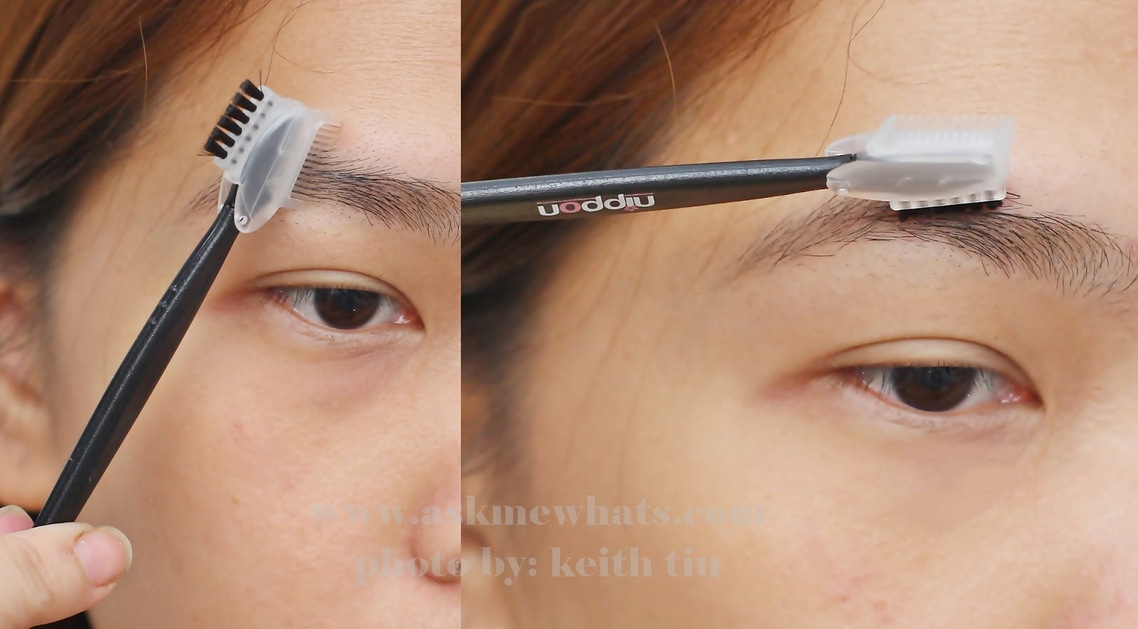 eyebrow razor before and after. eureka moment: the best eyebrow razor kit from nippon before and after l