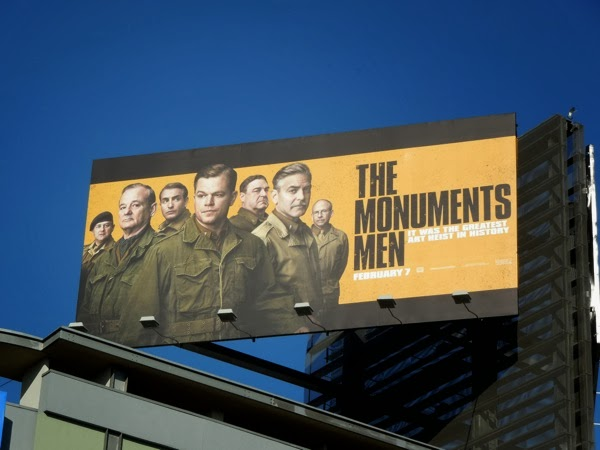 The Monuments Men billboard