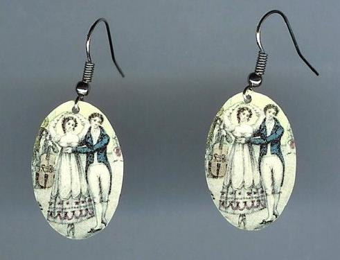 Dancing Couple Earrings