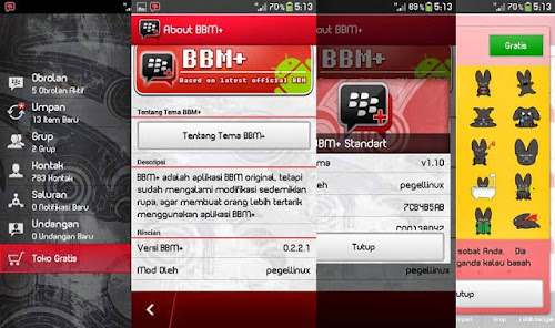 Download BBM Mod Android