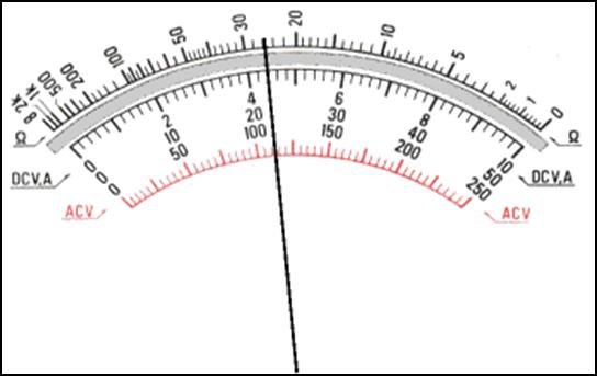 cara membaca multimeter    avometer analog