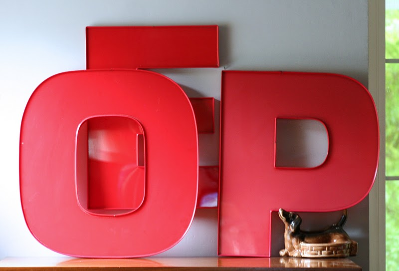 Fab finds for Large plastic alphabet letters