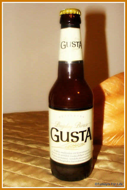 Turkish Beers - Gusta Wheat Beer