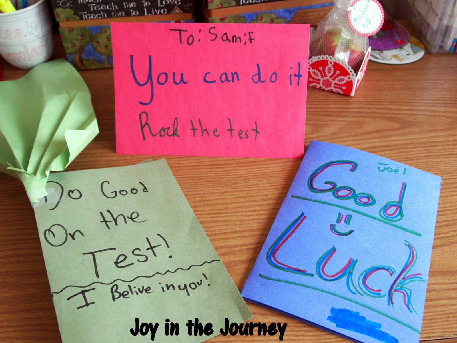 Encouraging Words For Kids Before A Test Joy in the journey~: fun ...
