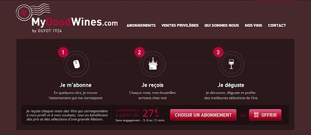 Bon plan Code promo MyGoodWines -9€