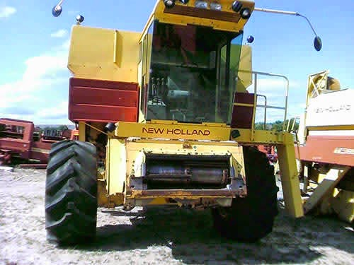 Used new holland combine parts