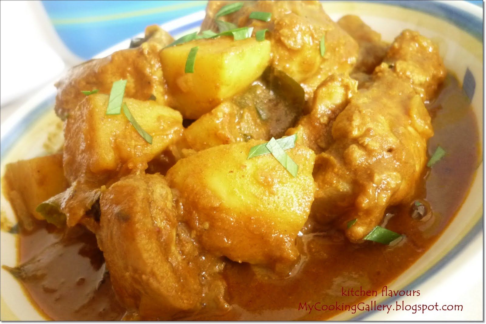 kitchen flavours: Chicken Curry