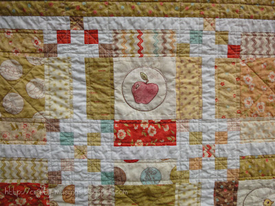 Whimsy, quilting detail