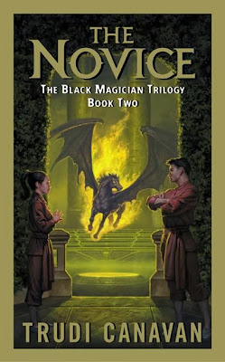 Fantasy Book Review of The Novice (The Black Magician Trilogy:  Book 2) by Trudi Canavan
