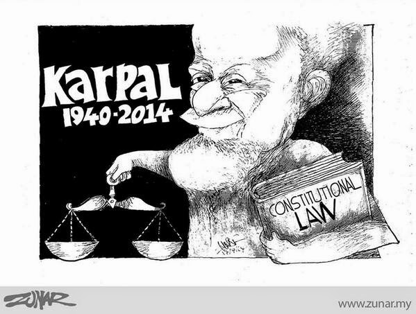 Dalam Kenangan - Karpal Singh 1940 -2014