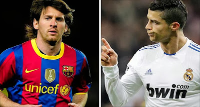 Barcelona vs Real Madrid - Messi vs Ronaldo