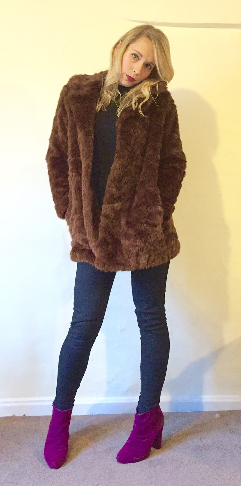 Fur Hooded Jacket Women S