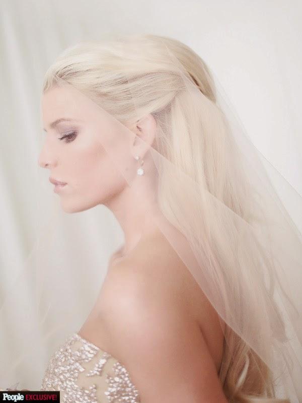 Jessica Simpson Weds Eric Johnson, so sweet