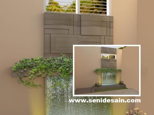 jasa interior eksterior 3d desain taman belakang rumah