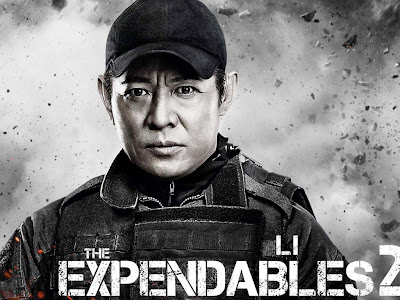 The Expendables 2 powerpoint background 2