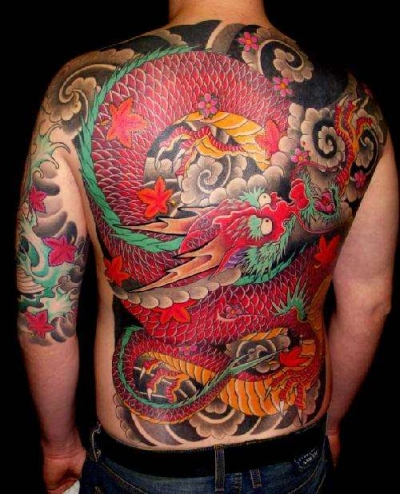 Dragon Tattoo on Free Tattoo Pictures  Asian Dragon Tattoos   The Dragon Tattoo