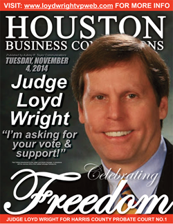 JUDGE LOYD WRIGHT IS SEEKING YOUR VOTE ON ELECTION DAY