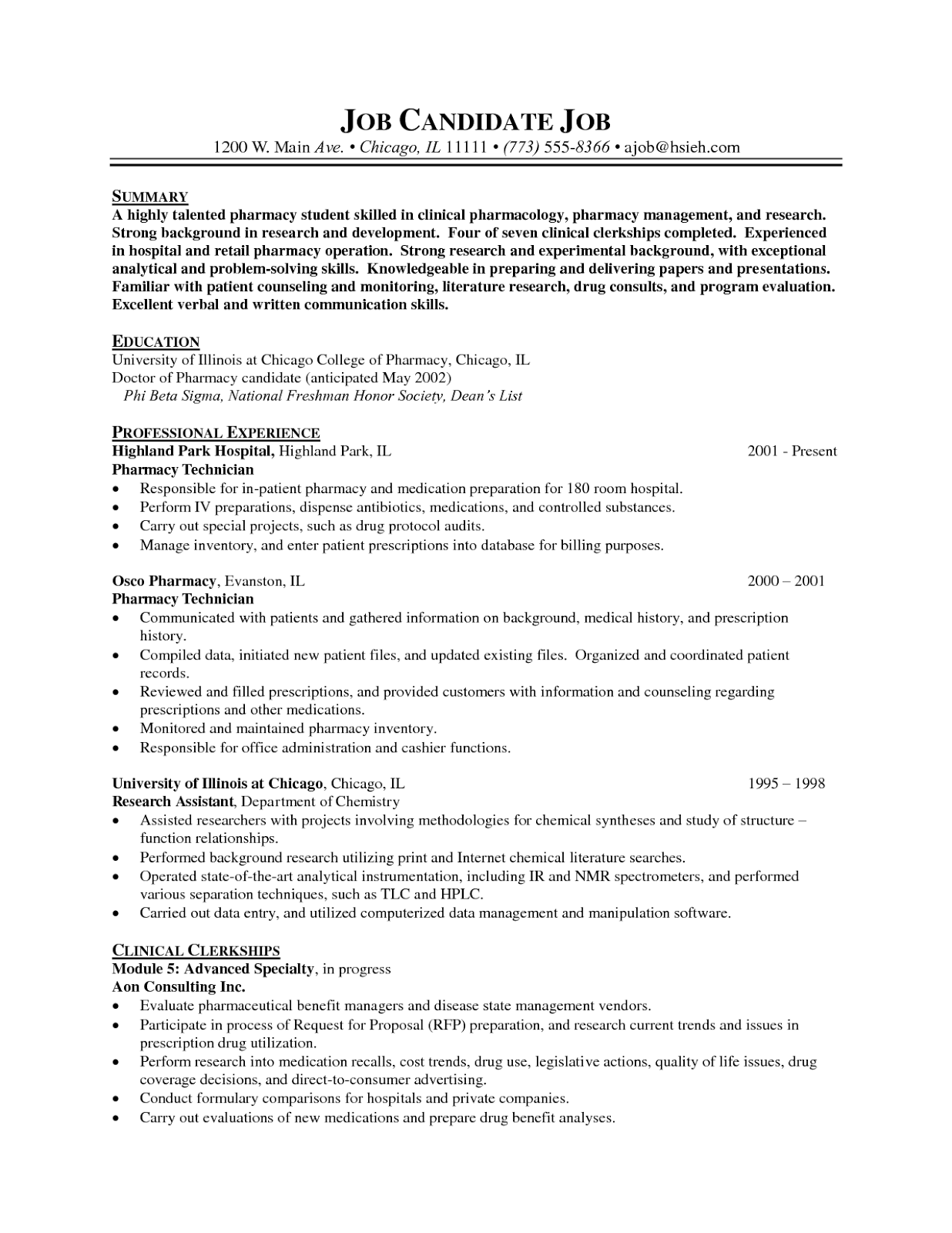 Analytical Chemist Cover Letter Choice Image - Cover Letter Ideas