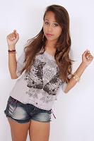 Modelo Brenda Miranda Escolhida pela própria loja Quase Tudo, ela e uma das modelos da campanha mod