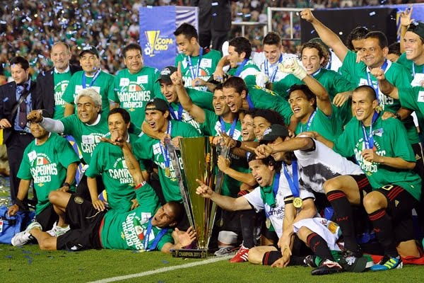 Mexico Campeón Copa ORO 2011