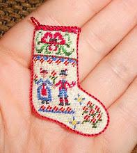 Natalia - calza di Natale!!!!