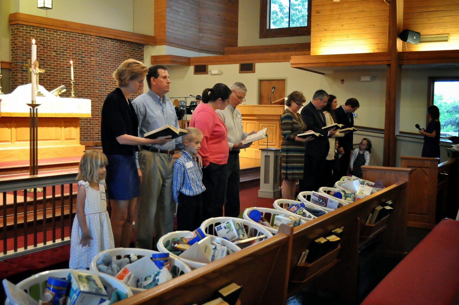 Messiah Lutheran Welcomes New Members, Sends off Seniors