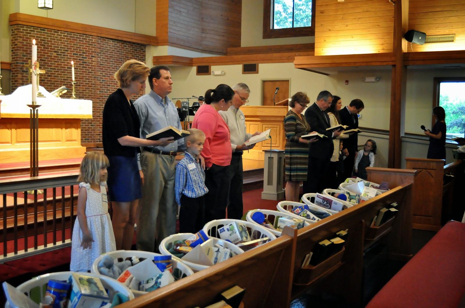 Messiah Lutheran Welcomes New Members, Sends off Seniors