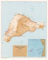 Mapa da Ilha de Páscoa
