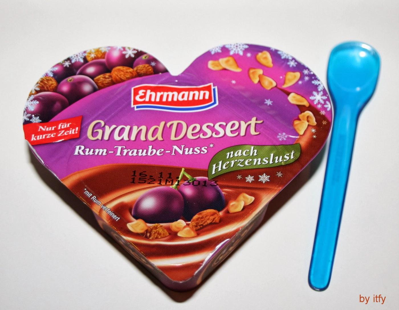 I TEST FOR YOU :-): NEU IM REGAL: Ehrmann Almighurt Grand Dessert ...